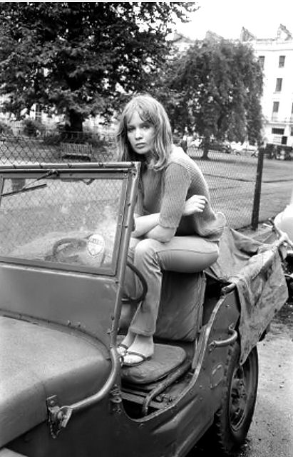 English fashion model Celia Hammond sitting in a jeep-UK-21st September 1964-Photo by Larry Ellis-Daily Express.jpg