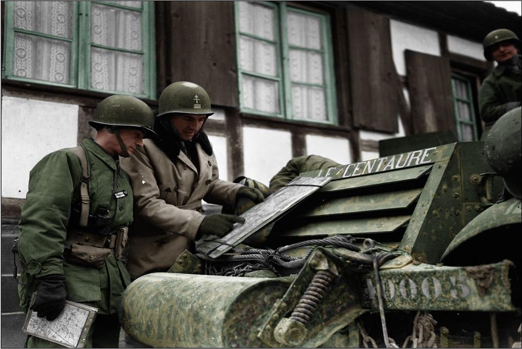 L'Armée Française à la Libération