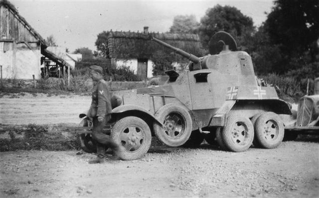 Captured Soviet BA-10 armored car with German markings%2C date unknown %28Small%29.jpg